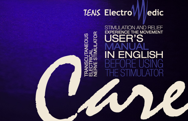ElectroMedic Care English User's manual