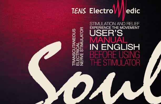 ElectroMedic Soul English User's manual